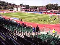 Brighton's Withdean Stadium
