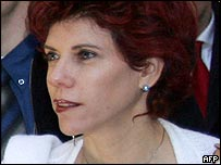 Judy Nir-Moses Shalom, the foreign minister's wife, is at the centre of the row