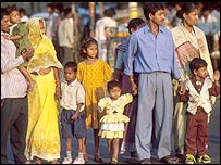 People in Calcutta
