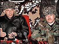 Аслан Масхадов и Ваха Арсанов