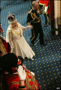The Queen and Duke of Edinburgh at the State Opening of Parliament