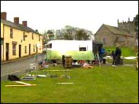 The crew spent the last days of filming at Cultra