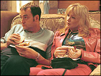 Craig Cash and Caroline Aherne in the Royle Family