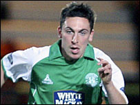 Brown is a key figure for Hibs
