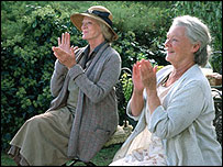 Dames Maggie Smith and Judi Dench