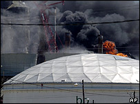 The explosion at the Texas City refinery in March