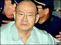 Former military ruler of South Korea, Chun Doo-hwan