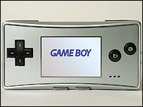 Nintendo GameBoy console