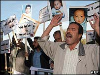 Relatives of children who died protesting in November