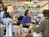 Sainsbury's tills