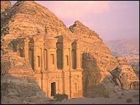 The Great Temple at Petra, Jordan