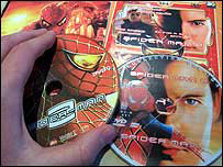 Spider-Man 2 DVDs