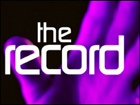 The Record title graphic