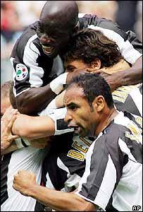 Jugadores del Juventus