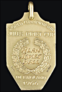 Alan Ball's 1966 World Cup Winner's Medal