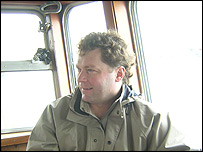 Andy Wheeler from the Cornish Fish Producers Association