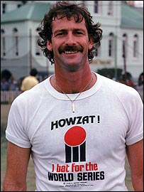 Dennis Lillee was a big-name supporter of the competition
