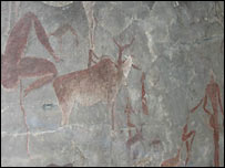The rock art of the San people