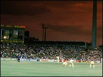 The Grand Final of the Super Series between Australia and the World XI in Sydney