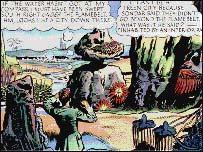 Image taken from original Dan Dare comic strip