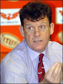 Llanelli Scarlets director of rugby and Lions assistant coach Gareth Jenkins