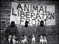 Animal Liberation Front members in 1990