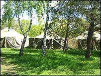 Eurovision Song Contest campsite, Kiev