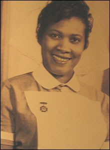 Unknown Commonwealth nurse, copyright Harry Jacobs