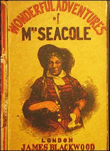 Cover of original edition of Mary Seacole's autobiography, copyright Bodleian Library, Oxford University