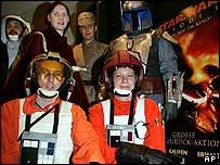 Star Wars fans in Hamburg, Germany
