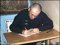 Mikhail Khodorkovsky writes in a Siberian prison camp