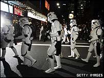 Star Wars fans in Sydney, Australia