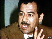 Saddam Hussein in the 1970s