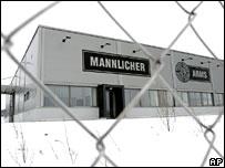 Steyr-Mannlicher building in Austria