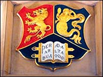 Birmingham University coat of arms