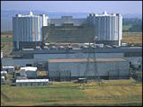 Oldbury power station. Picture courtesy of British Nuclear Group.