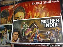 Hand-painted Bollywood film posters, Mumbai, 2005