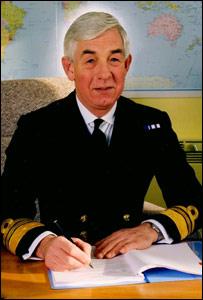 Vice Admiral Sir Fabian Malbon KBE