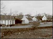 A picture of the village of Feakle in County Clare