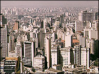 Sao Paulo skyline, BBC