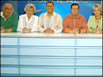 Quiz show contestants