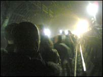 Image of Underground evacuation on 7 July in London