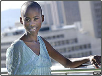 Botswana born model Kaone Kario won the  2005 Nokia face of Africa competition