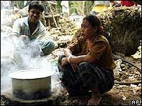 Tribal people on Car Nicobar