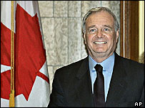 Canadian Prime Minister Paul Martin