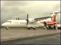 Air Wales plane