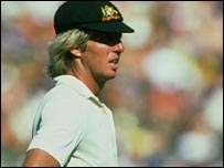 Jeff Thomson in Aussie colours