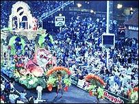 Carnaval de Gualeguaychú. Foto cortesía del sitio del Gobierno de Entre Ríos, Argentina.