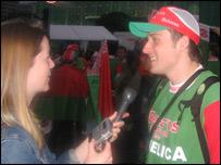 Belarus fan