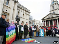 Vigil for Norman Kember
